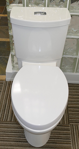 "American Standard ""Studio"" Concealed Trapway, Dual Flush Toilet"