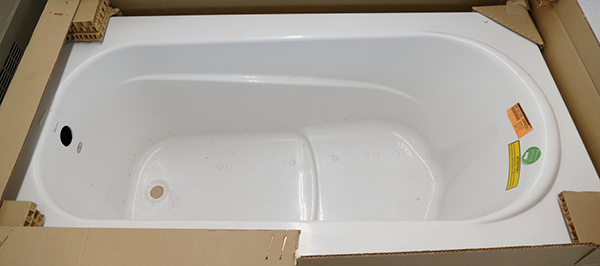 "Bainultra ""Amma"" 60"" X 32"" Hydro-Therapy Drop In Bath Tub"