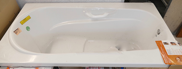 Bainultra Amma 66 X 36 Hydro Therapy Drop In Bath Tub