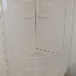 "Hytec ""Systems Connect"" 36"" 3 piece shower Stall"