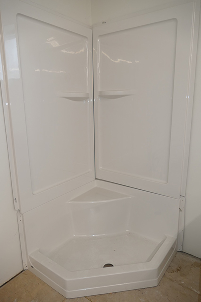 Hytec Systems Connect 36 3 Piece Shower Stall Benner
